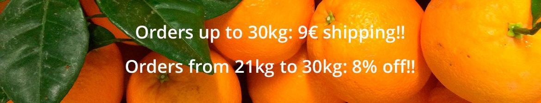 Banner Oranges Online