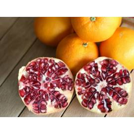 Mixed (10 kg orange juice and 5 kg pomegranates)