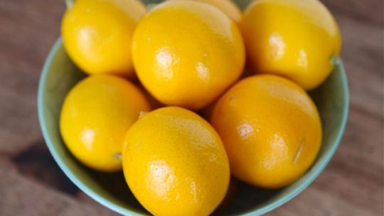 What to do with Meyer lemons