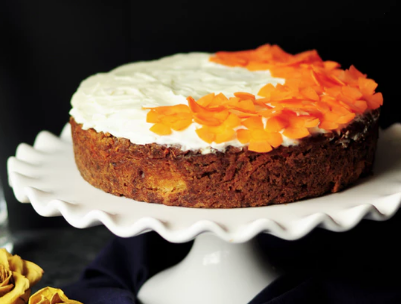 Yogurt and Orange Sponge Cake Recipe for diabetics