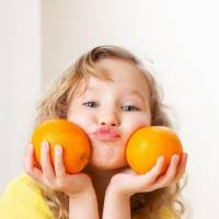Why children should eat oranges and tangerines?