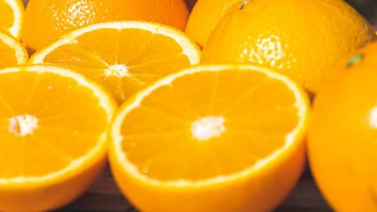 Why are oranges good for constipation?