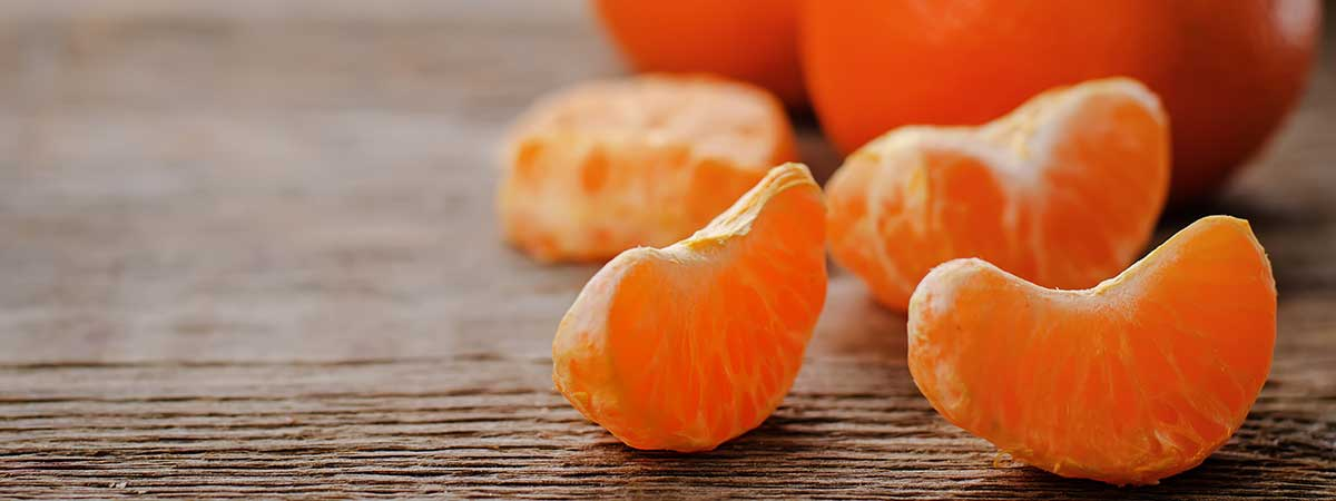 How many calories does the tangerine have?